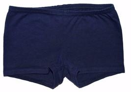 Gap Kids Girls XS Extra Small Elastic Waist Dark Navy Blue Cotton Fabric Shorts - $9.85