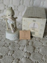 Enesco Precious Moments Porcelain Lord keep My Life In Balance Figure 1990 - $17.45