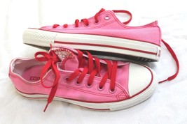Converse All Star Pink Womens Us 7 Uk 5 Womens Double Tongue Sneakers - $24.75