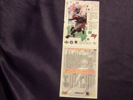 Tampa Bay BuccaneersMike Alstott and Warrick Dunn RB Football Trading Cards AA- image 3