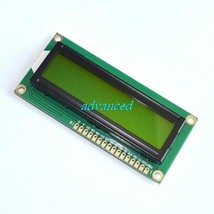 ! lcd 1602 blue screen Character LCD Display Module Blue white fonts New... - $39.08