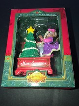 Matrix Collectible Critter Christmas Ornament New Mouse Girl Decorating ... - $8.91