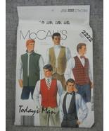 Men's Vests Chest 38 Todays Man McCalls 2222 Outdoor Office Formal Weste... - $8.50