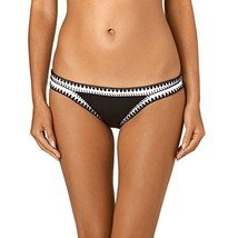 Seafolly Women's Summer Vibe Hipster Bottoms Black Swimsuit Bottoms US SZ 2 - $65.00