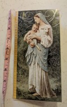 Hallmark Christmas Card Card Unused Christian, Virgin Mary, Jesus, Lamb ... - $3.00