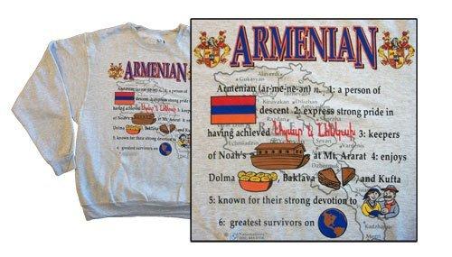 Armenia national definition sweatshirt 10263