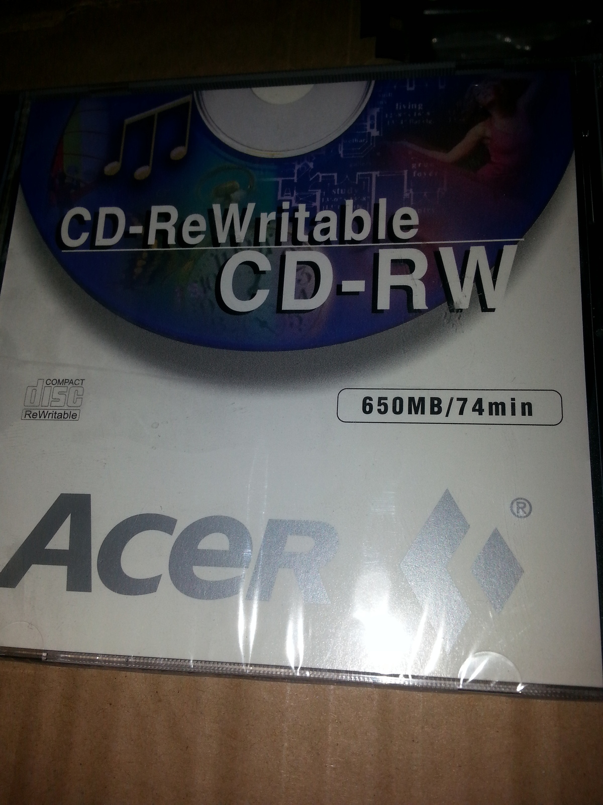 Primary image for Acer 4x/2x/1x Multi speed CD-RW
