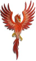 "Custom Phoenix Embroidery Iron On/Sew patch [5.94"" * 9.99""][Made in USA] - €12,78 EUR"