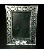 """1 (One) WATERFORD Marquis ARABESQUE Cut Crystal Frame Holds 4"""" x 6"""" D/C ... - $47.49"""