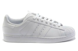 Adidas Originals Superstar B27136 All White Leather Mens Shoes - $69.99