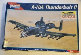 Monogram A-10A Thunderbolt II Model Kit 5474 1:72 Scale Skill 2 New and Sealed - $18.69