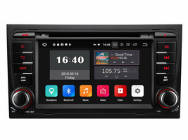 Audi A4 S4 RS4 2002-2007 Touch Screen Multimedia Navigation Car Radio Dvd Gps - $494.95