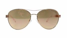 Michael Kors Aviator Women's Sunglasses MK5003 1003R1 Rose Gold 60mm Aut... - $69.00