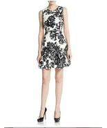 NWT WOMEN Rebecca Taylor Floral-Print Fit-&-Flare Dress size 2 $375 - $74.24