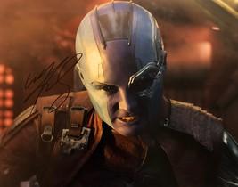 KAREN GILLAN AUTOGRAPHED Hand SIGNED 11X14 PHOTO AVENGERS: Infinity War ... - $149.99