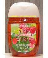 Ripe Raspberry Vine Pocketbac Antibacterial Sanitizing Hand Gel Bath Bod... - $5.00