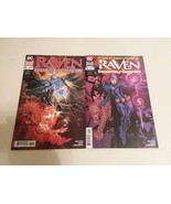 RAVEN: DAUGHTER OF DARKNESS #1 AND VARIANT #1 - TITANS - FREE SHIPPING - $14.03