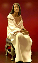 Nao by Lladro 02012016  MORNING REPOSE Porcelain Figurine Gres New  - $366.30