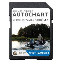 Humminbird AutoChart Zero Lines Map Card: Starting Your Mapping Adventur... - $99.99
