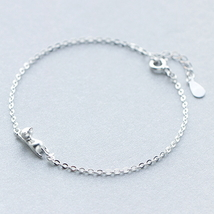Cute all-match little cat 925 sterling silver c... - $36.85