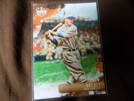 2019 panini  diamond kings mel ott # 6 giants - $2.99