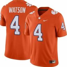 Nike Clemson Tigers Game Football Jersey #4 New Mens Xl Deshaun Watson Orange - $54.99