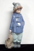 Lladro Nao Girl with Bag Figurine - $39.55