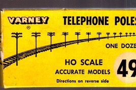 HO Trains _ Varney Telephone Poles - $3.25