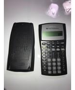 Texas Instruments BAII Plus Financial Calculator Business Analyst Works - $28.04