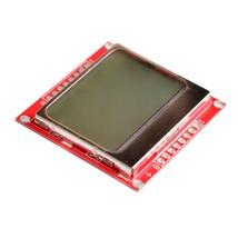 5pcs/lot 5110 LCD Black on Blue Background 84x48 Display for 8 Bit AVR/P... - $16.83