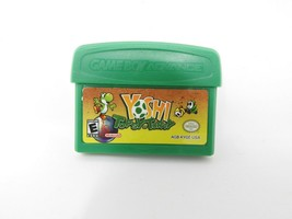 Nintendo Gameboy Advance Game Yoshi Topsy-Turvy. Not Tested. Cartridge Only - $16.87 CAD