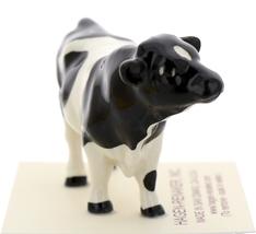 Hagen-Renaker Miniature Ceramic Cow Figurine Holstein Bull Cow and Calf Set image 12