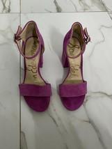 Sam Edelman Torrence Ankle Strap Sandal, Women's Size 7m, Pink - $14.26