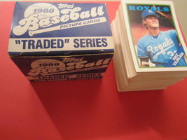 1988 TOPPS Traded Series 132 Card box, Complete [b4c9] - $6.72
