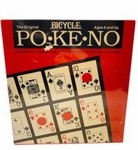 Bicycle PoKeNo The Original Jumbo Game Boards Pokeno Chips Sealed - $14.84