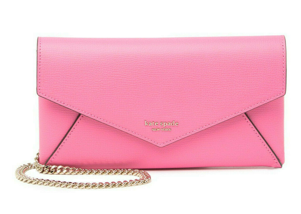 Primary image for Kate Spade sylvia envelope leather crossbody clutch Card Holder Wallet ~NWT~