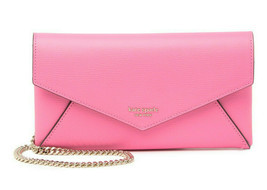 Kate Spade sylvia envelope leather crossbody clutch Card Holder Wallet ~... - $97.02