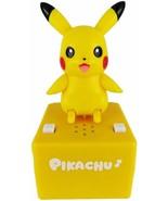 New Pop'n step Pokemon Pikachu Figure Moving Takara Tomy Yellow Japan - $44.87