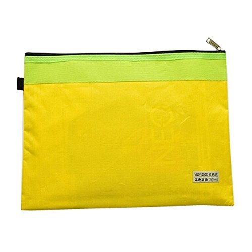 Primary image for 2PCS Canvas Document File Stationery Zipper Bag File Pockets, A