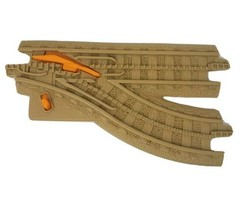 1 FISHER PRICE GEO TRAX DOUBLE TAN SWITCH TRACK ROAD PLASTIC REPLACEMENT... - $12.34