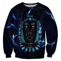 Anubis Jackal Lightning 3D Sweatshirt - $36.58