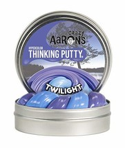 "Crazy Aaron's Thinking Putty 4"" Tin - Hypercolor Twilight- Color Changing Putty,"