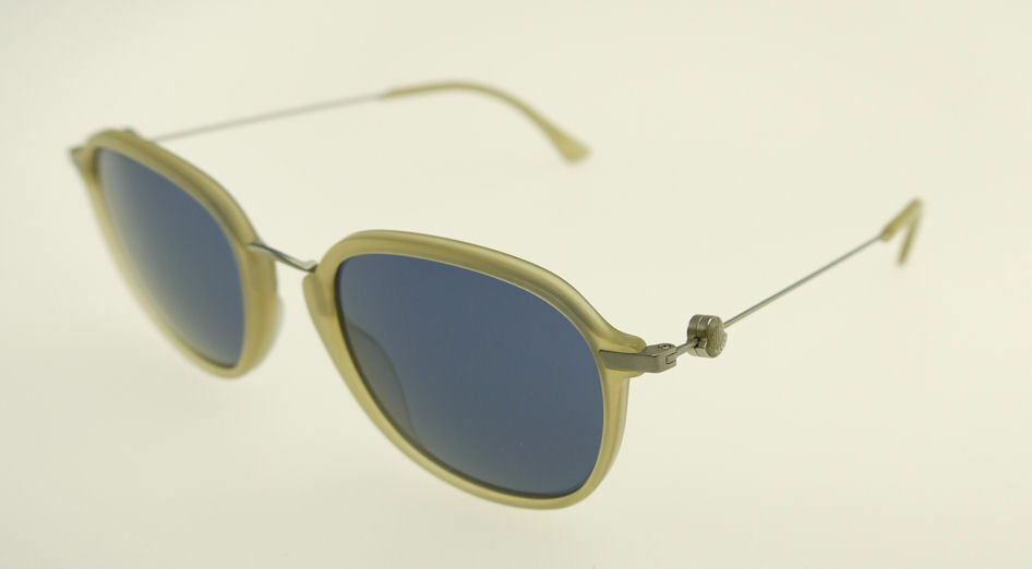 Primary image for MONCLER MC011-V02 Beige / Blue Sunglasses MC 011-V02