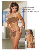 Cavewoman Jane loin cloth sexy cave girl , Made to your size - $24.00