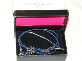NIB (2011) AVON Christmas Tis The Season 3 Bracelet Set Adjustable Cords... - $9.99