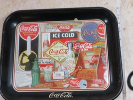 Coca Cola Through The Years Metal Serving Tray Vintage Limited Edition... - $27.10