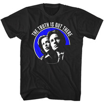 X-Files Truth is out there Men's T-Shirt Agents Mulder Scully FBI OFFICI... - $19.99+