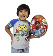 Ryan's World Toys Surprise Mystery Giant Egg, Gold - $75.24