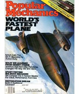 Popular Mechanics Magazine June 1991 World's Fastest Plane - $7.50