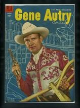 Gene Autry Comics #90 FN 1954 Dell Photo Cover Comic Book - $13.22